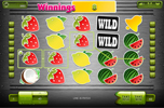 Fresh fruit slot